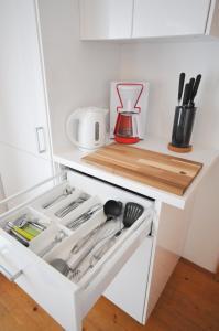 Küche/Küchenzeile in der Unterkunft Apartment Schmitten 67