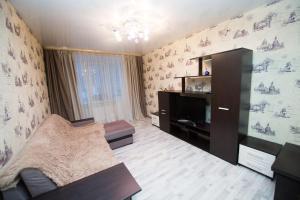 Телевизор и/или развлекательный центр в Апартаменты на Шереметевском