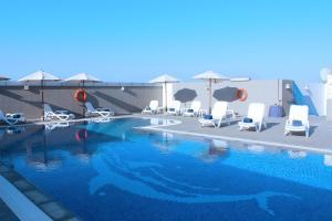 The swimming pool at or near Al Diar Sawa Hotel Apartments