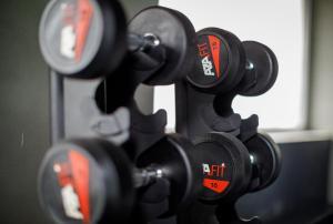 O centro de fitness e/ou as comodidades de fitness de Sport Hotel Gym + SPA