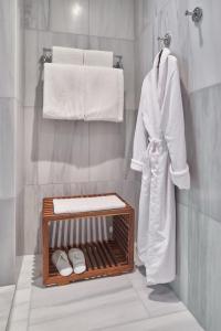 A bathroom at Stanton House El Paso