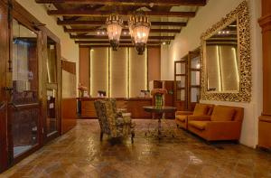 Гостиная зона в Plaza Magnolias