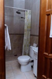 Ванная комната в Отель Эдем