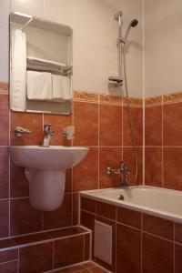 Ванная комната в Отель Переславль