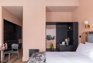 Ein Bett oder Betten in einem Zimmer der Unterkunft Whitworth Locke