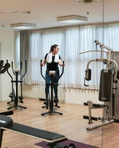 The fitness center and/or fitness facilities at Best Western CTC Hotel Verona