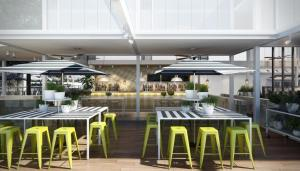 A restaurant or other place to eat at Cottesloe Beach Hotel