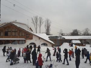 Отель «Усадьба Ромашково» зимой