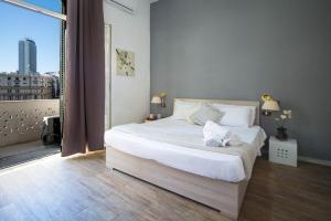 Кровать или кровати в номере Hotel Le Orchidee