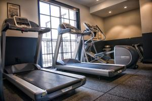The fitness center and/or fitness facilities at The Ramble Hotel
