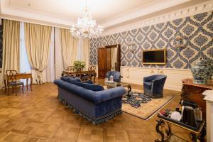 Uma área de estar em Hotel Ai Reali - Small Luxury Hotels of the World