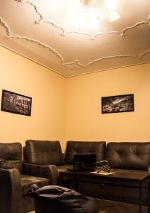 A seating area at EuroHostel Kiev
