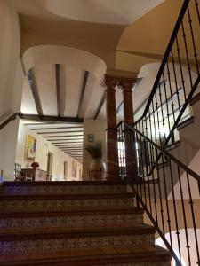 El vestíbulo o zona de recepción de Hotel Santo Domingo Lucena