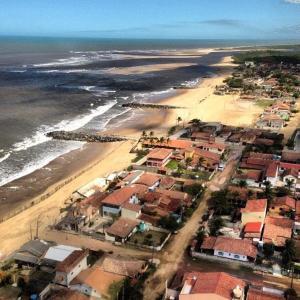 A bird's-eye view of Pousada Barra Mares