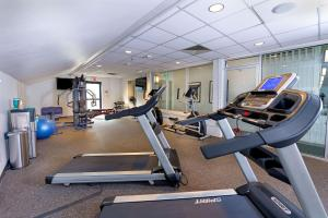 The fitness center and/or fitness facilities at The Ridgeline Hotel, Estes Park, Ascend Hotel Collection