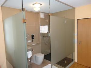 Ванная комната в Hotel Cafe Lorenz
