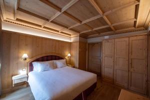 Letto o letti in una camera di Hotel San Lorenzo