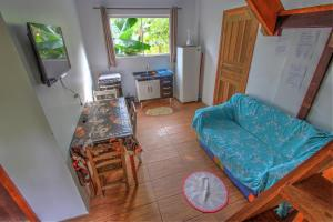 Uma área de estar em Vila Equilíbrio Natural