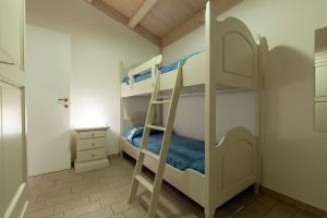 Letto o letti a castello in una camera di Agricampeggio Alessandra