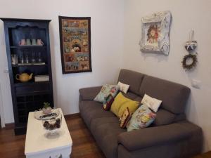 Zona de estar de Casa Mama Fela