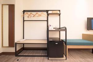 Ruyi Innにある二段ベッド