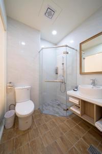 Ruyi Innにあるバスルーム