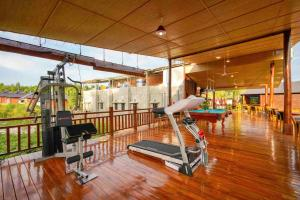 The fitness center and/or fitness facilities at Phu Quoc Bambusa Resort