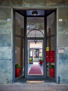 Eine Fassade oder ein Eingang zu La Casa Sotto I Tigli