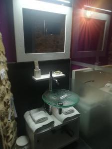 A bathroom at Casa O Gures