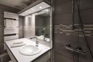 A bathroom at Hotel Beysang