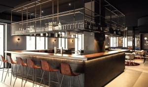 The lounge or bar area at ibis Styles Wien Messe Prater