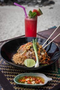 Essen im Resort oder in der Nähe