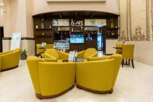 O lounge ou bar de Holiday Jazan Hotel