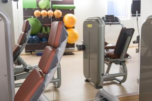 Palestra o centro fitness di Mountainlodge Luxalpine