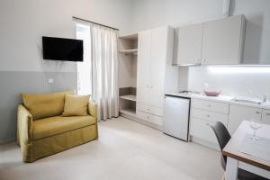 Η κουζίνα ή μικρή κουζίνα στο Stylish Studio Apartment - 1 House