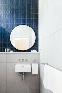 A bathroom at Lorne Hotel