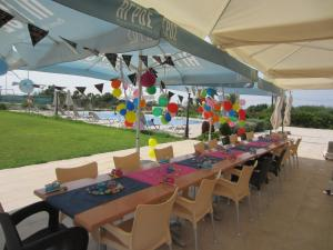 A restaurant or other place to eat at Protaras Tennis and Country Club