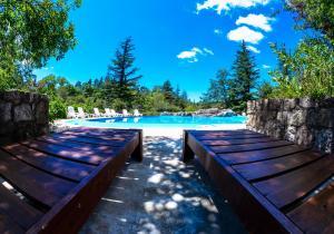 The swimming pool at or near Hotel Las Cascadas