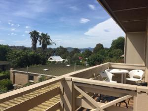 A balcony or terrace at Gowings of Mallacoota