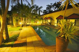 The swimming pool at or near Minen Hotel