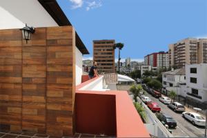 A balcony or terrace at Casa Hotel Baquedano