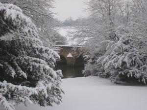 Castle Farm Guest House during the winter