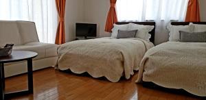 A bed or beds in a room at La Curación