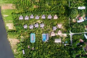 A bird's-eye view of Hue Ecolodge
