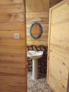 A bathroom at O3 Beach Resort