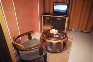 A seating area at Dar El Aaz