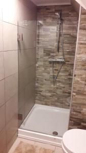 Een badkamer bij Het Burgemeestershuis