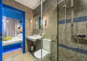 Ванная комната в Бутик-отель Зеленый Театр