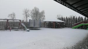 Apartman Taktik v zimě