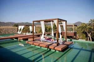 The swimming pool at or near Herdade do Amarelo Nature & Spa